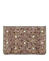 Christian Louboutin Loubiclutch Glitter Clutch Bag
