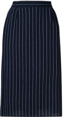 Fendi Pre-Owned 1980's pinstripe tailored skirt