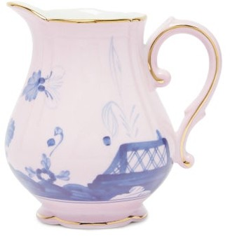 Richard Ginori Oriente Italiano Porcelain Milk Jug - Pink Multi