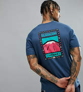 The North Face T-Shirt North Faces Back Print Exclusive to ASOS In Dark Blue