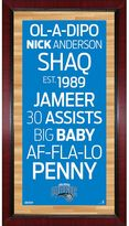 """Steiner Sports Orlando Magic 32"""" x 16"""" Vintage Subway Sign"""