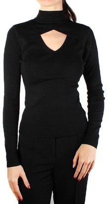 MICHAEL Michael Kors V-Neck Cut Out Sweater