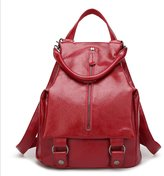 YOYOMA Women Stylish Leather Backpack Shoulder Bag for Girls Student School Bags Lady Handbag