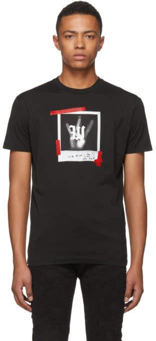 DSQUARED2 Black Polaroid T-Shirt