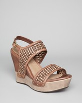 UGG Wedge Sandals - Assia Woven Strappy
