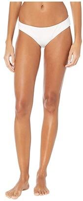 Becca by Rebecca Virtue Color Code Adela Hipster Bottoms (White) Women's Swimwear