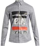 Mcq Alexander Mcqueen Prince Of Wales-checked Cotton Shirt
