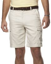 Chaps Men's Classic-Fit Linen-Blend Cargo Shorts
