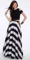 Camille La Vie Circular Stripe Skirt