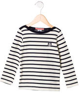Petit Bateau Boys' Striped Long Sleeve Sweater