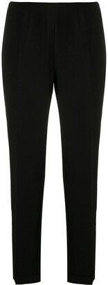 Armani Exchange High-Waisted Tapered Trousers