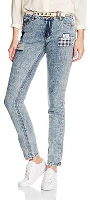 Joe Browns Women's Patchwork Jeans Straight
