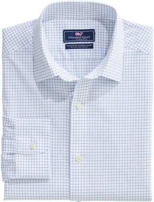 Vineyard Vines Big & Tall Classic Fit Calabash Check Spread Collar Cooper Shirt