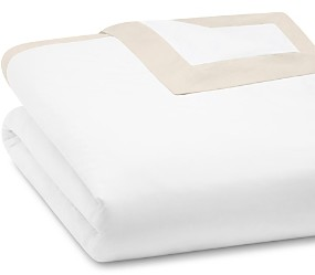 Peacock Alley Mandalay Cuff Duvet Cover, Twin