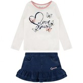 GUESS GuessButterfly Top & Skirt Set