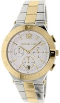 Michael Kors MK5934 Two Tone Stainless Steel with Wyatt Silver Dial 40mm Mens Watch
