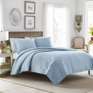 Laura Ashley Full/Queen Felicity Quilt Set Bedding