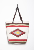 Forever 21 Southwestern-Patterned Tote