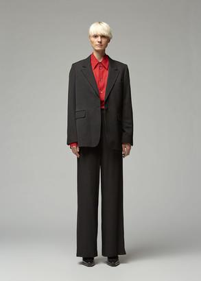 Ann Demeulemeester Women's Jacket in Lainecotton Black Size 36