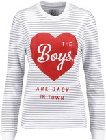 Zoe Karssen Printed cotton sweatshirt
