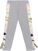 Emilio Pucci Kids Printed stretch-cotton hoodie