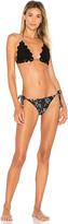 Zimmermann Paradiso Crochet Bikini Set in Black. - size 0 / XS (also in )