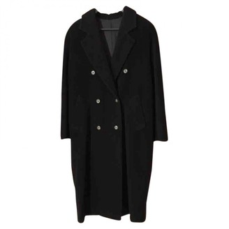 Max Mara 101801 Blue Wool Coat for Women
