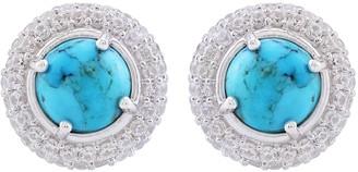 Generation Gems Sterling Silver Gemstone Stud Earrings