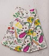 Fluffy Layers Dishtowel Set / Veggie Print / Pack of 3 / 100% Cotton / Gardening Gift