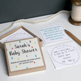 Modo creative Personalised Baby Shower Message Box