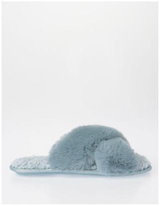 S.O.H.O New York Fluffy Slipper