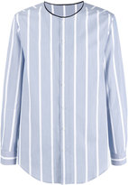 3.1 Phillip Lim striped shirt - men - Cotton - M
