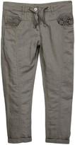 Dex Lace Pocket Drawstring Pant (Big Girls)