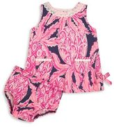 Lilly Pulitzer Baby's Two-Piece Lilly Shift Dress & Bloomers Set
