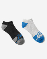 Eddie Bauer Men's Active Pro COOLMAX® Low Socks - 2 Pack