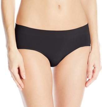 Bali womens2H63One Smooth U All Around Smoothing Hipster Panties Hipster Panties - Black - Large
