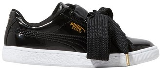 Puma Heart patent leather sneakers