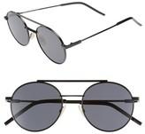 Fendi Men's 52Mm Round Sunglasses - Black