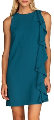 Trina Turk Madellan Ruffle Shift Dress