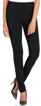 Style&Co. Style & Co Petite Seam-Front Ponte-Knit Leggings, Created for Macy's