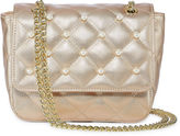 Asstd National Brand Quilted Mini Flap Crossbody Bag