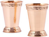 Old Dutch Solid Copper 12 Oz Mint Julep Cups Set of 2