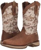 Durango Rebel 12 Desert Camo (Dusty Brown/Desert Camo) Cowboy Boots