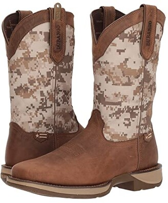 Durango Rebel 12 Desert Camo (Dusty Brown/Desert Camo) Cowboy Boots