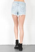 Siwy Denim Britt High Waisted Cut Off Shorts in Careless