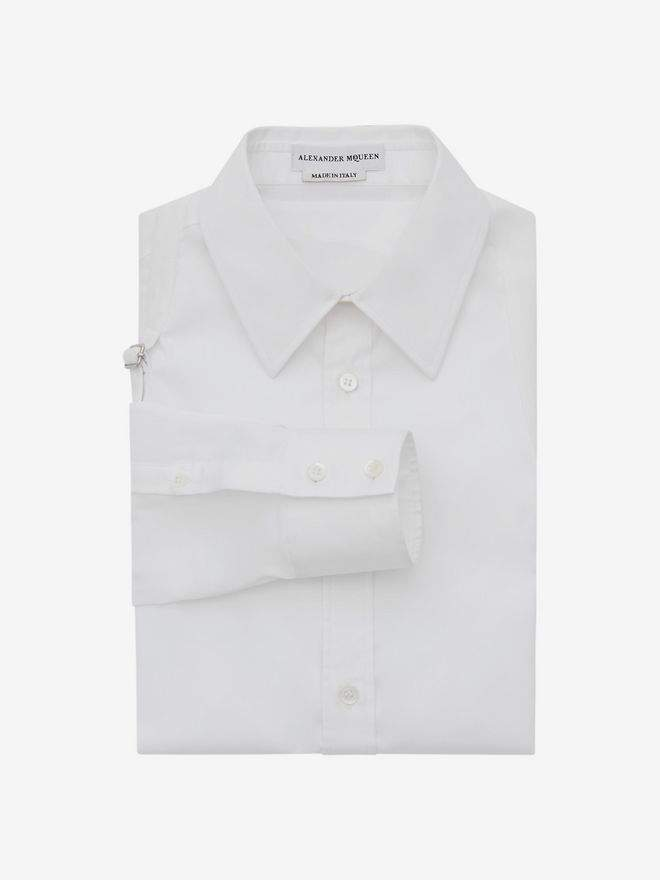 Alexander McQueen Harness Cotton Shirt