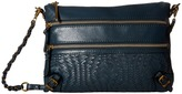Elliott Lucca Bali '89 3 Zip Clutch Clutch Handbags