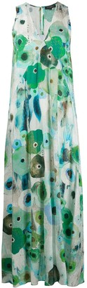 Antonelli Abstract Floral Print Dress