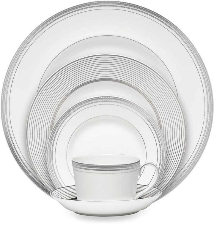 Monique Lhuillier Waterford® Platine Dinnerware
