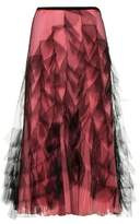 Valentino Tulle and silk skirt